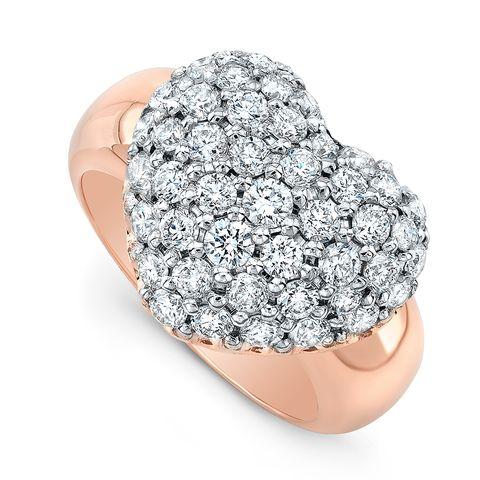 Diamond, Ring, Fashion accessory, Jewellery, Engagement ring, Platinum, Heart, Finger, Gemstone, Silver,