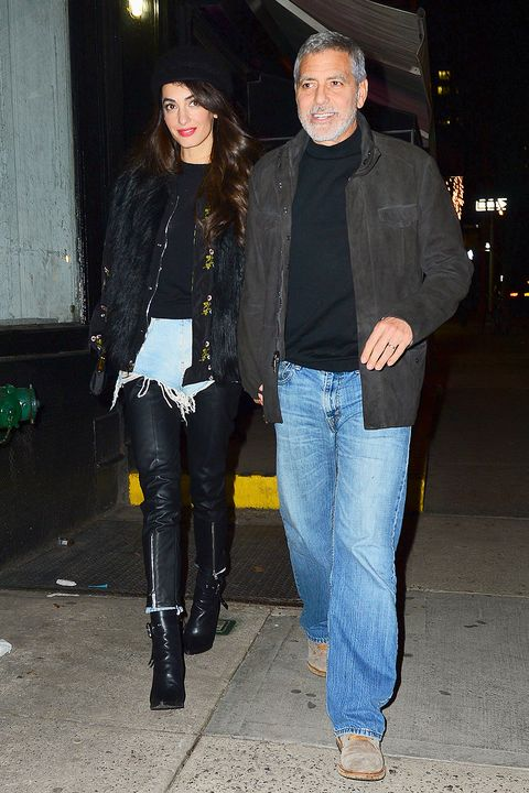 George and Amal out and about in NYC heading to Raoul's restaurant Thursday Hbz-amal-clooney-0405-splash-1523026937
