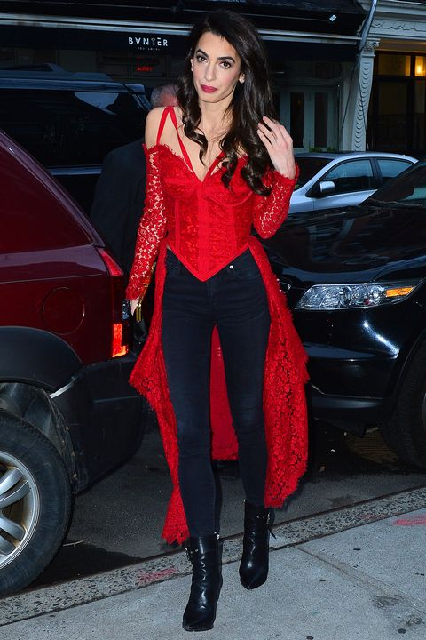 Amal Clooney Steps Out In A Killer Going Out Top