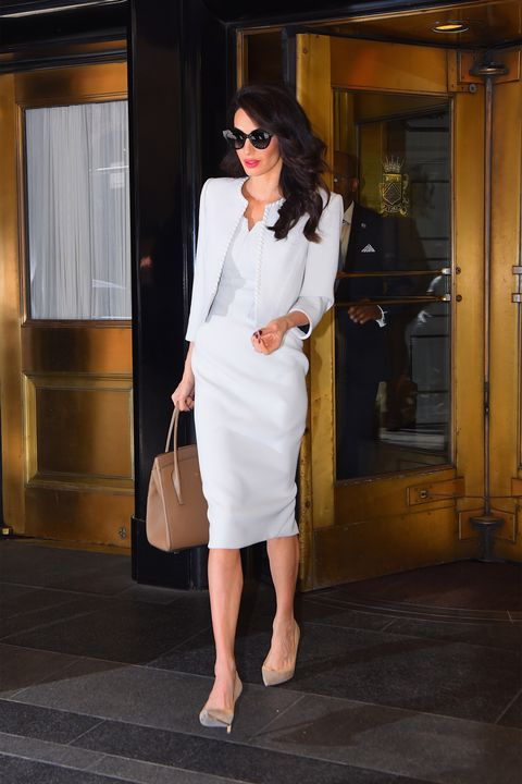 White, Clothing, Shoulder, Dress, Fashion, Street fashion, Fashion model, Footwear, Leg, Eyewear,