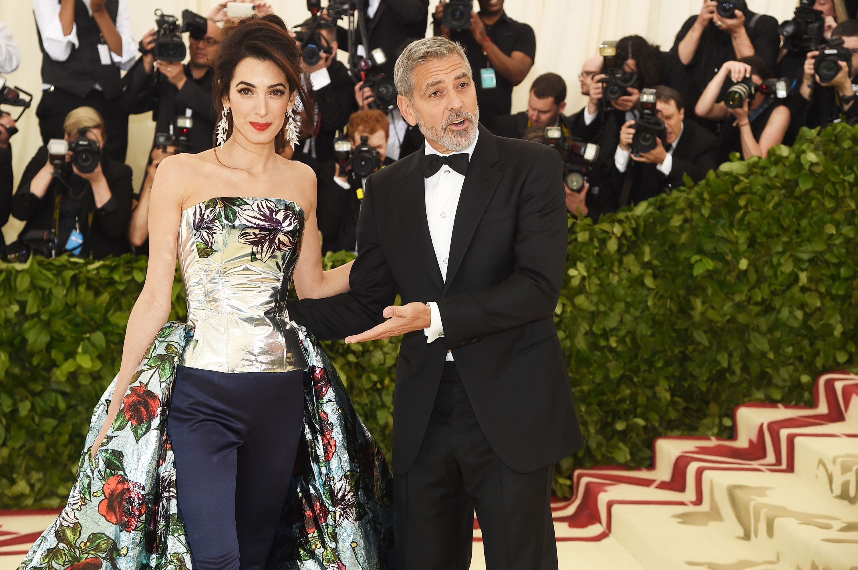 8cd76b9ef25 Amal Clooney Wore Pants with Her Met Gala Dress and Our Jaws Are on the  Floor