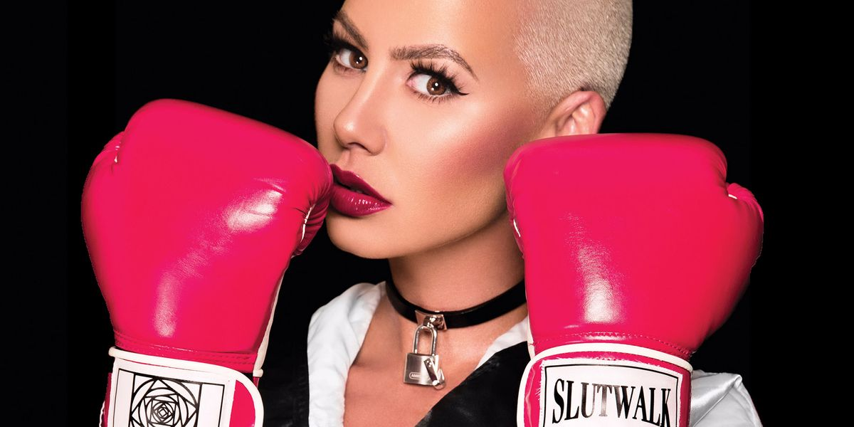 02193d16d8a4 Amber Rose Opens Up About Slut-Shaming and Her Upcoming SlutWalk in an  Interview for BAZAAR.com