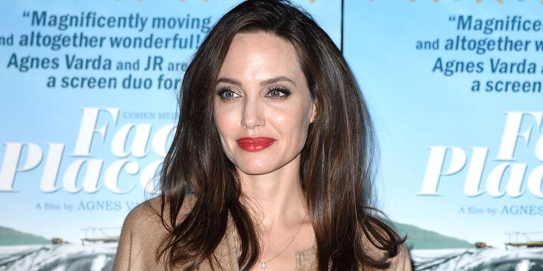 Angelina Jolie Hair Styles: Angelina Jolie Just Cut Her Hair