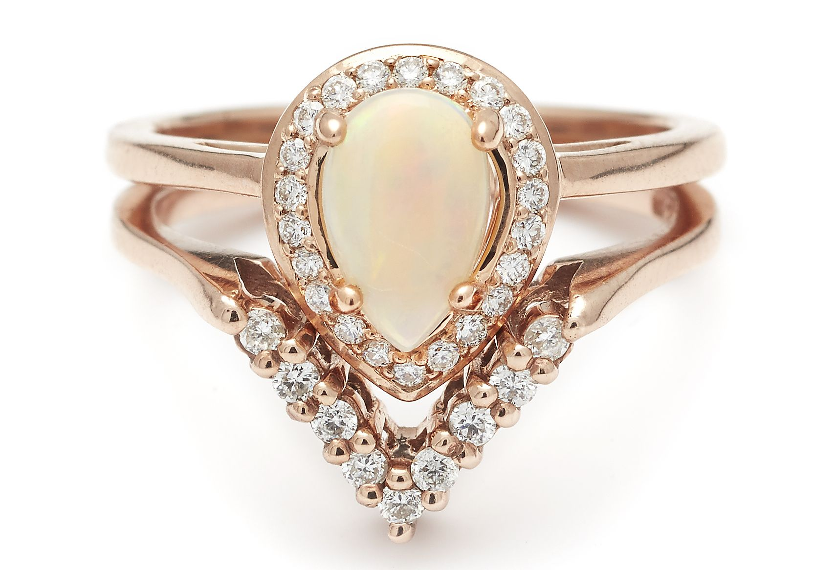 rings gold il promise products diamond marquise opal deco engagement halo rose brilliant marquis art love facets fire anniversary vintage natural ring fullxfull