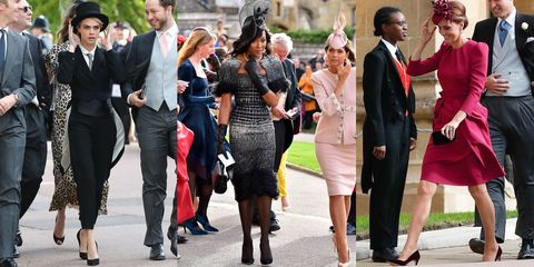 Royal Wedding Guests.All The Guests Arriving At Princess Eugenie And Jack