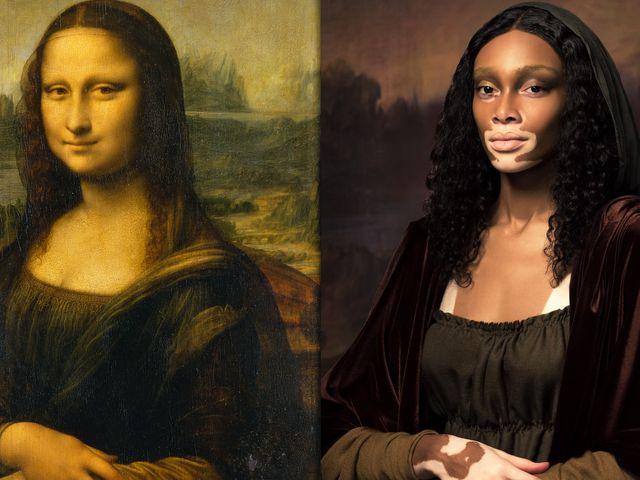 Models Recreate Works Of Art Models Pose As Famous Works Of Art