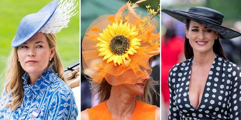 All the Hats Guests Wore to the Royal Ascot 2018 - Royal Hats 6b1e3773f38