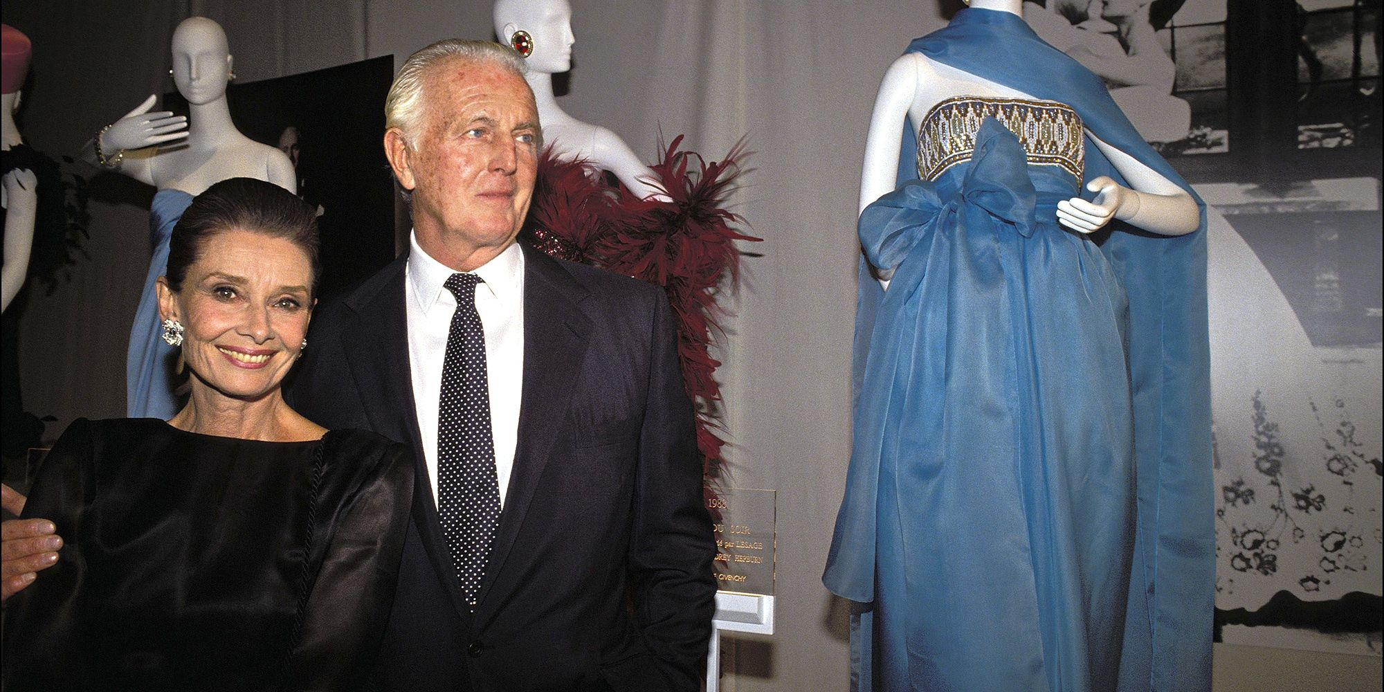 804961b3bb6 A Look Back at Hubert de Givenchy and Audrey Hepburn s Greatest Moments