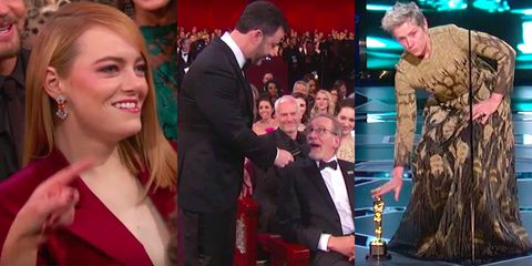 the most awkward moments from the oscars 2018 ceremony