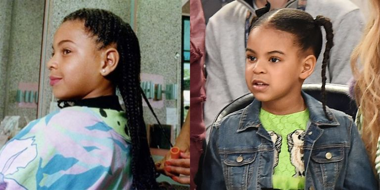 Young Beyonc 233 Looks Exactly Like Blue Ivy Beyonc 233 Looks