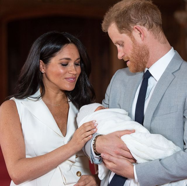 Every Photo Of The Royal Baby With Meghan Markle And