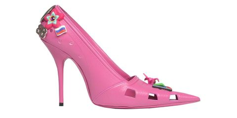 b66d83967 Balenciaga Made Croc Stilettos and Please Call A Doctor Because I Kind of  Want A Pair