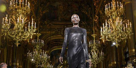 Balmain : Runway - Paris  Fashion Week Womenswear Spring/Summer 2018