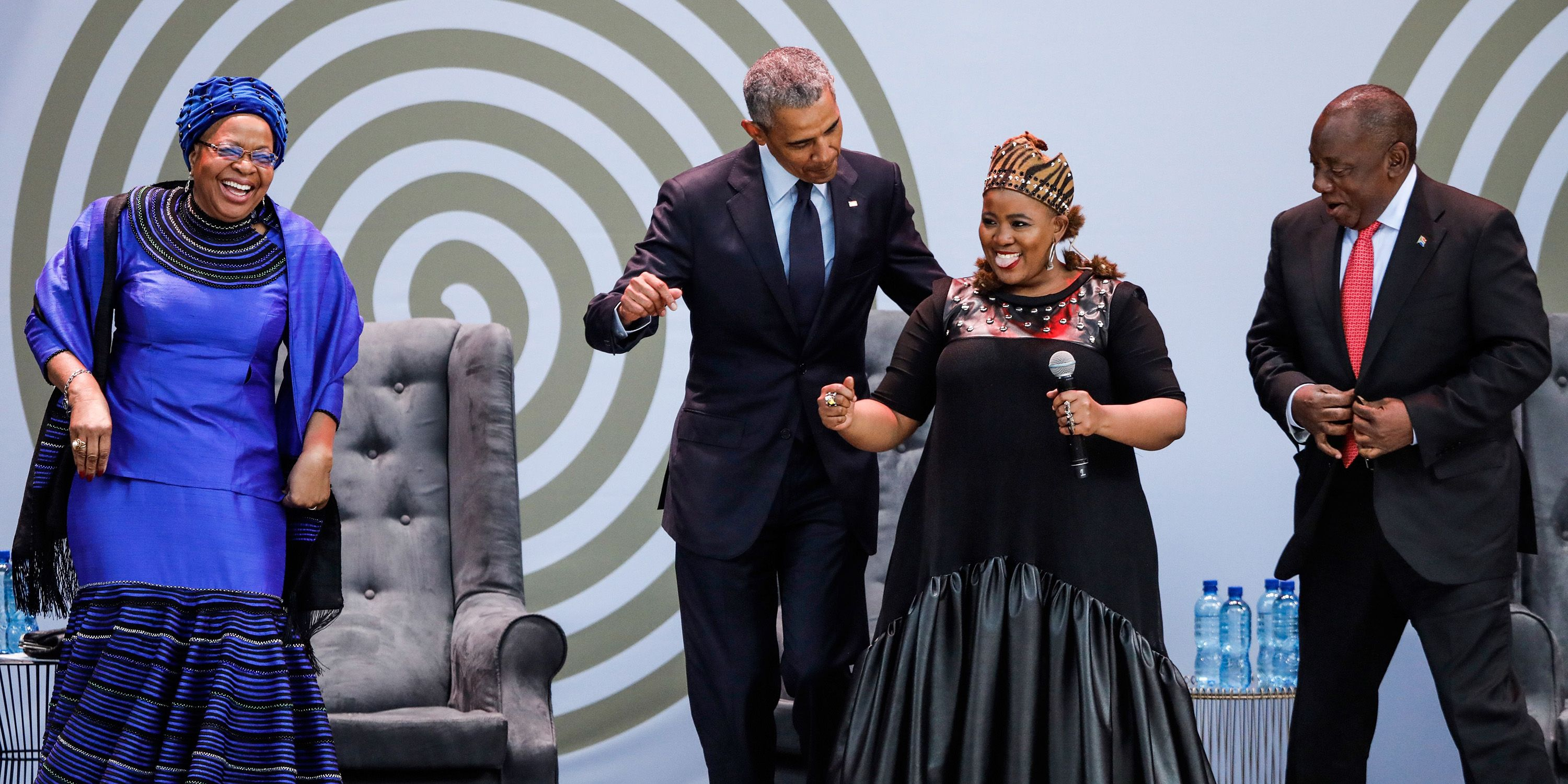 Barack Obama Dancing in Kenya Is Exactly What Your Week Needs