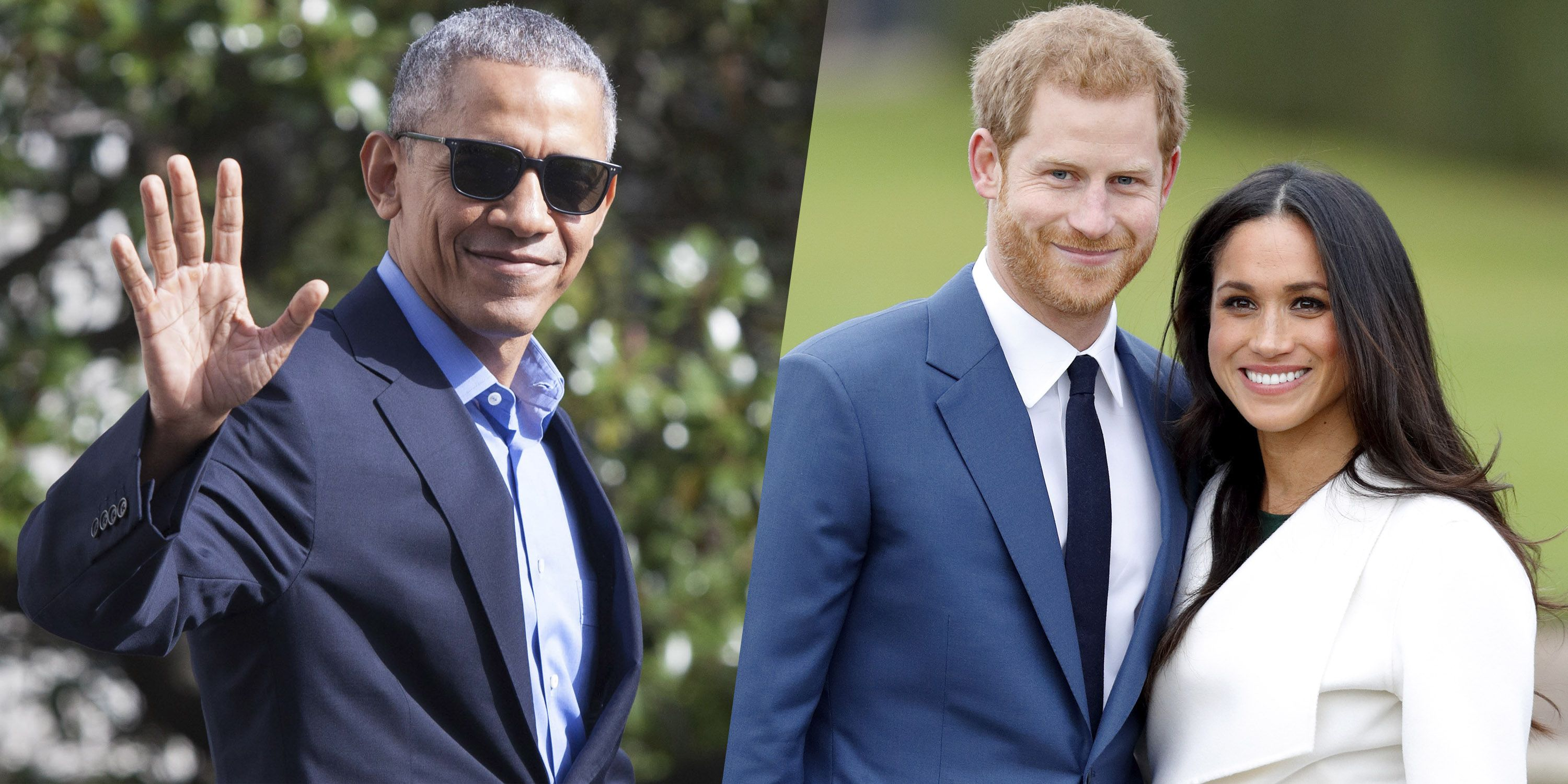 Barack Obama Just Congratulated Prince Harry and Meghan Markle on ...