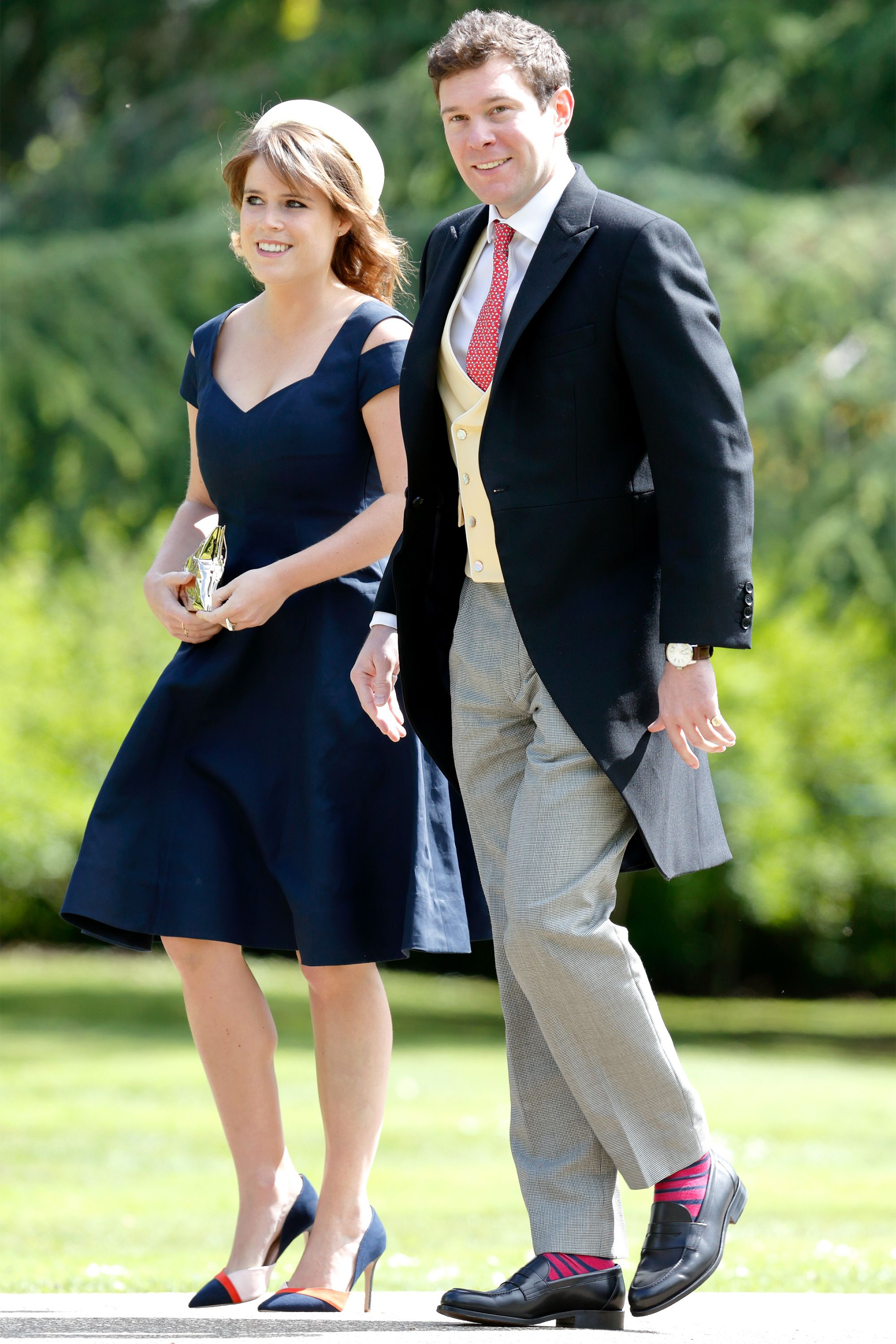 Will Princess Eugenie Wear a Stella McCartney Wedding Gown Down the Aisle Today