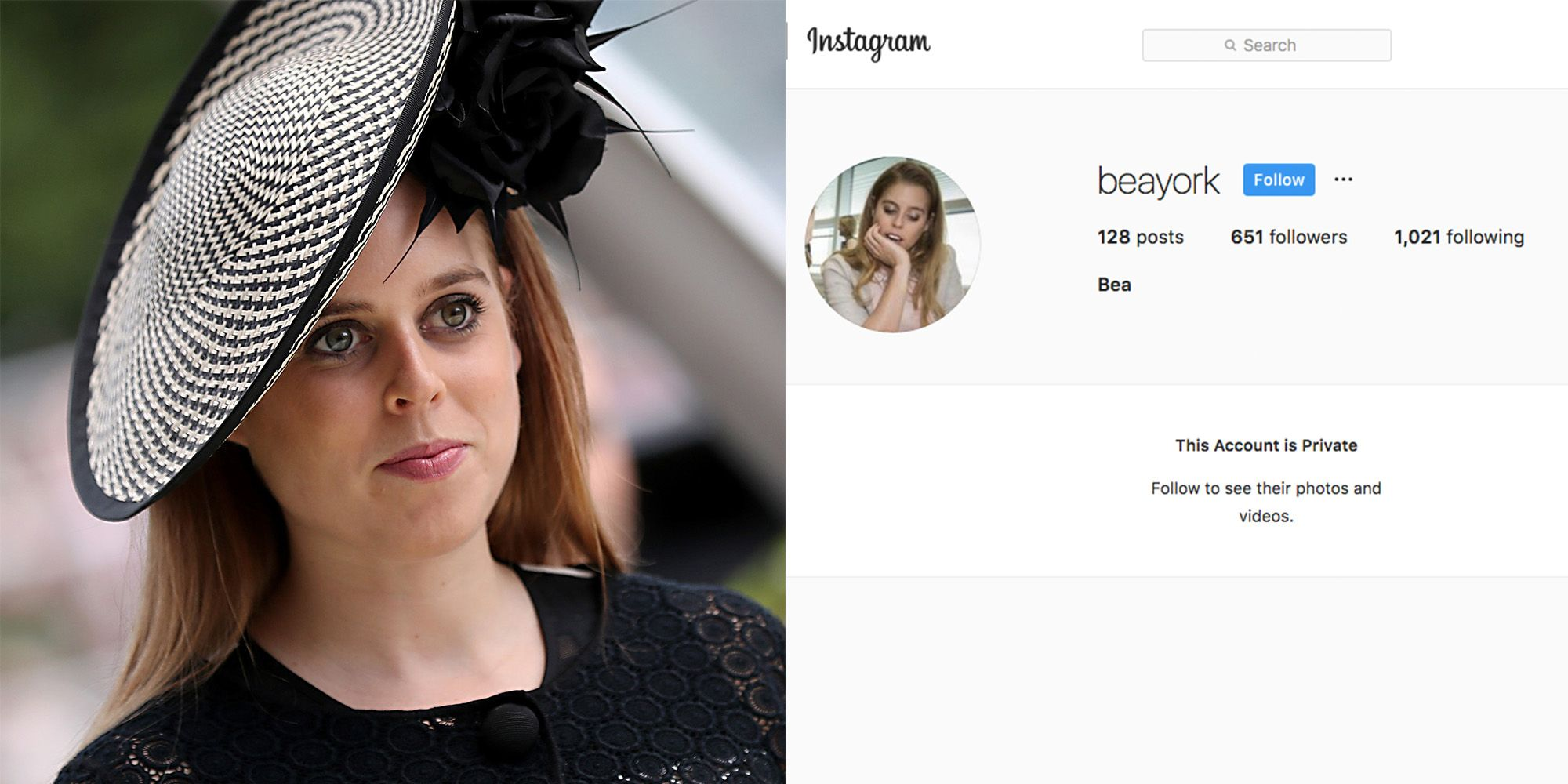 Princess Beatrice Does Have a Private Instagram Account
