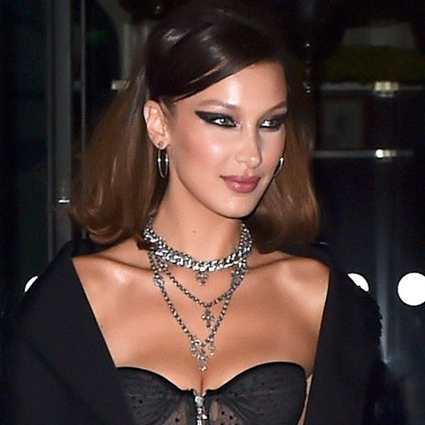 364020bd79bfa Bella Hadid is seen leaving the Royal Monceau hotel in Paris with Jesse Jo  Stark going
