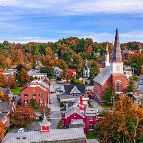 Montpelier, Vermont Townscape