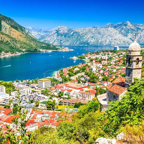 Kotor, Montenegro, Adriatic Sea