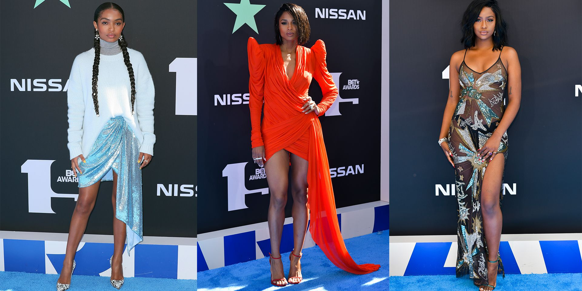 The 10 Best Dressed Celebrities at the 2019 BET Awards