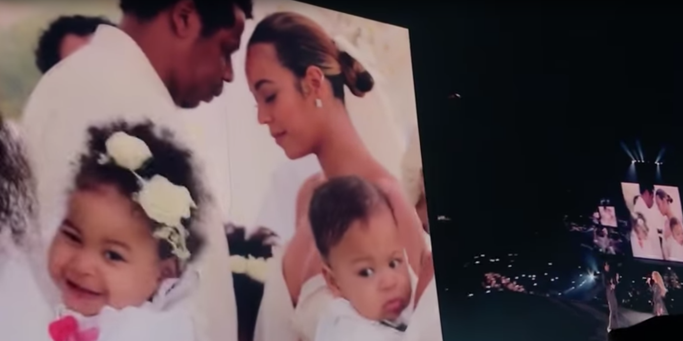 Beyonce And Jay Z Appear To Renew Vows In New Tour Footage
