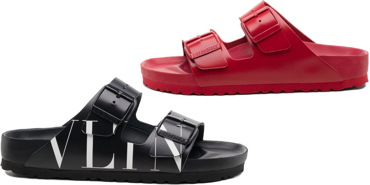 Valentino X Birkenstock Sandals Are Now Available To Shop