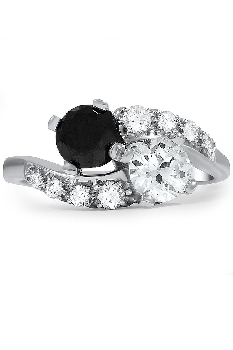 20 Black Diamond Engagement Rings For Proposing To Unique Brides