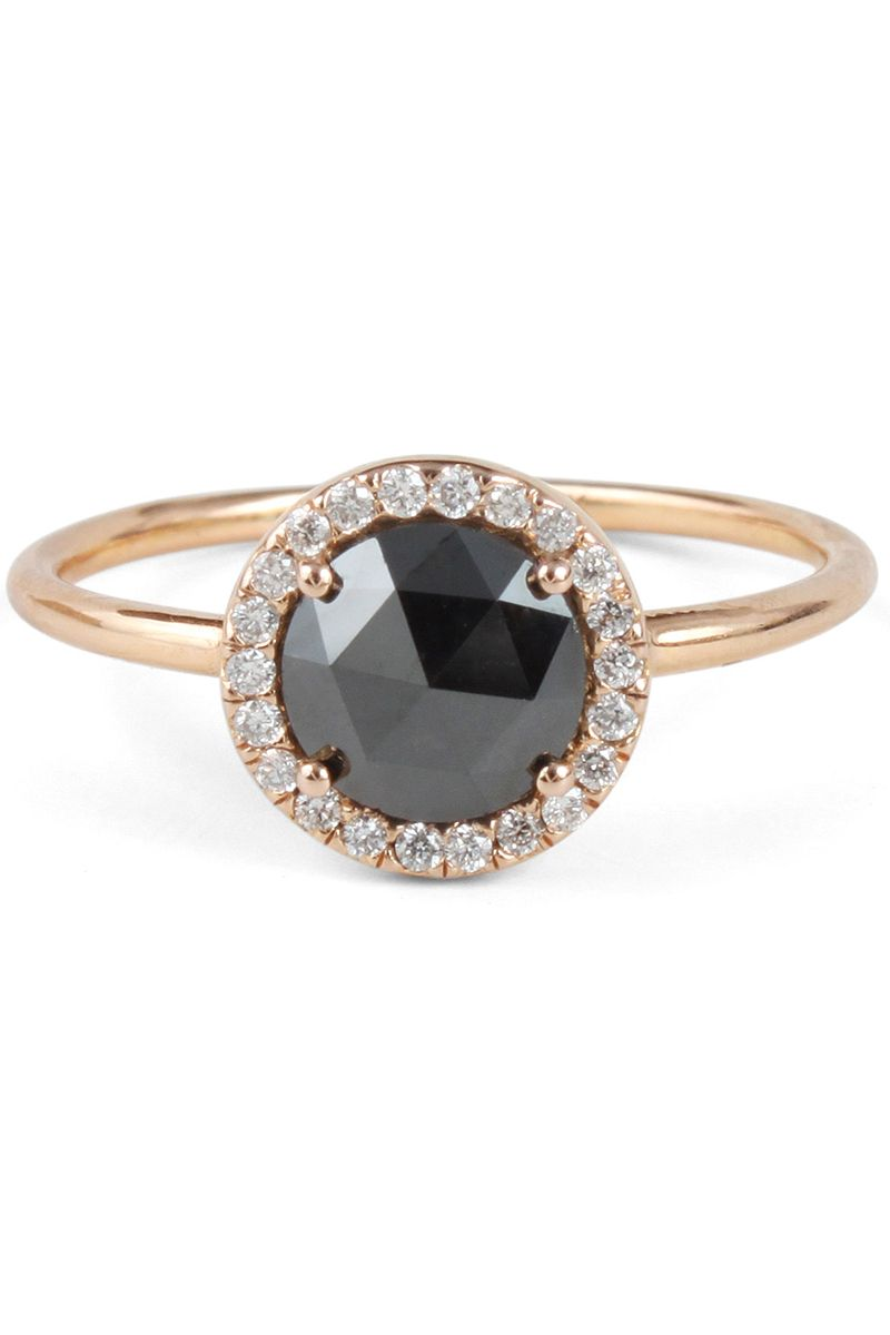 Unique For 20Black Diamond Engagement Proposing Brides Rings To Fc1KlJ