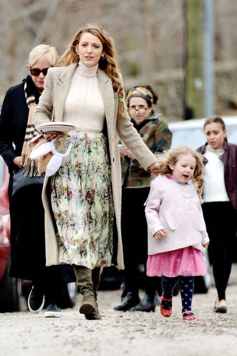 Blake Lively S Daughter James Makes An Adorable Appearance