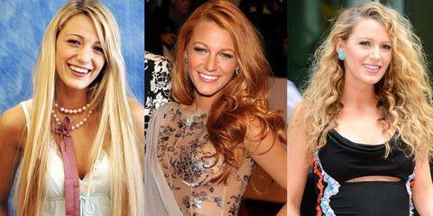 Hair, Blond, Hairstyle, Nose, Eyebrow, Long hair, Beauty, Brown hair, Hair coloring, Chin,