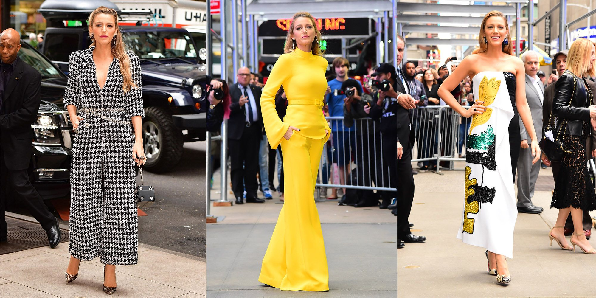 Blake Lively Has Already Worn Three Outfits Today and They All Looked Stunning