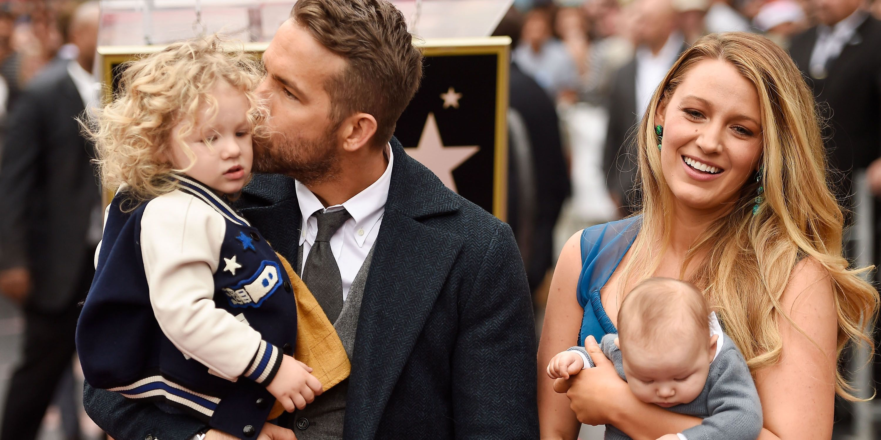 Blake Lively Brings Ryan Reynolds and Their Kids When She Travels to Film Movies