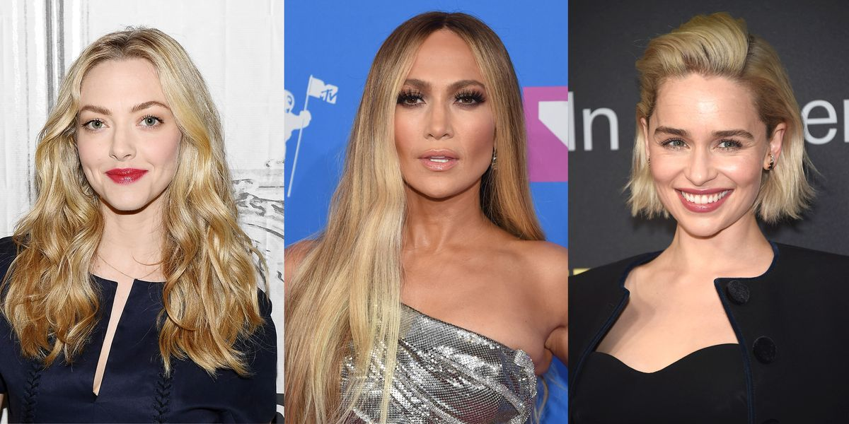 50 Blonde Hair Colors For 2018 Best Celebrity Hairstyles From