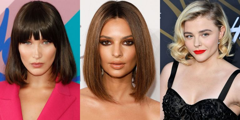 Lobs And Bobs Are Short Sophisticated Surprisingly Low Maintenance Click Through Our Favorite Hair Inspirations From Timeless Katie Holmes