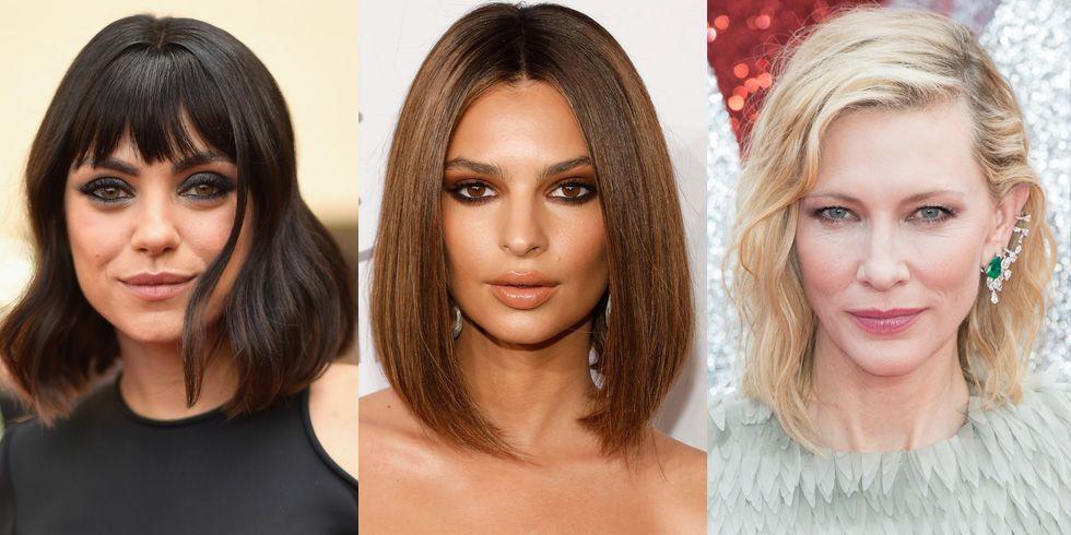 50 Cute Bob And Lob Haircuts 2018 Best Celebrity Long Bob Hairstyles