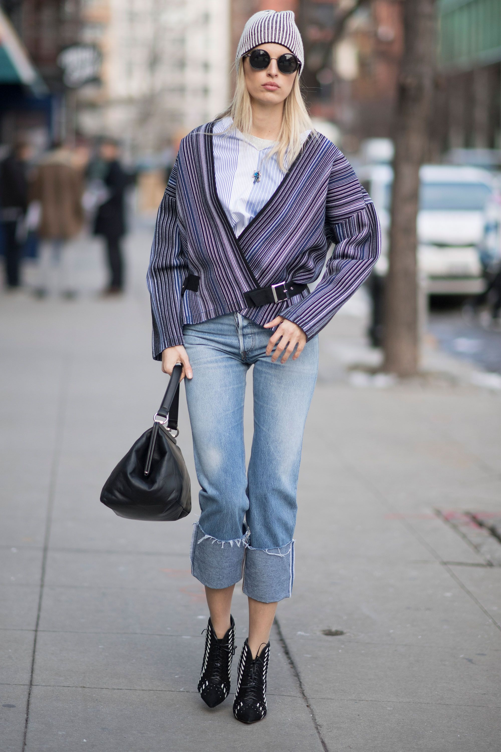 7b999508c18 How to wear booties with jeans and booties style jpg 480x720 Jeans and boots  outfits