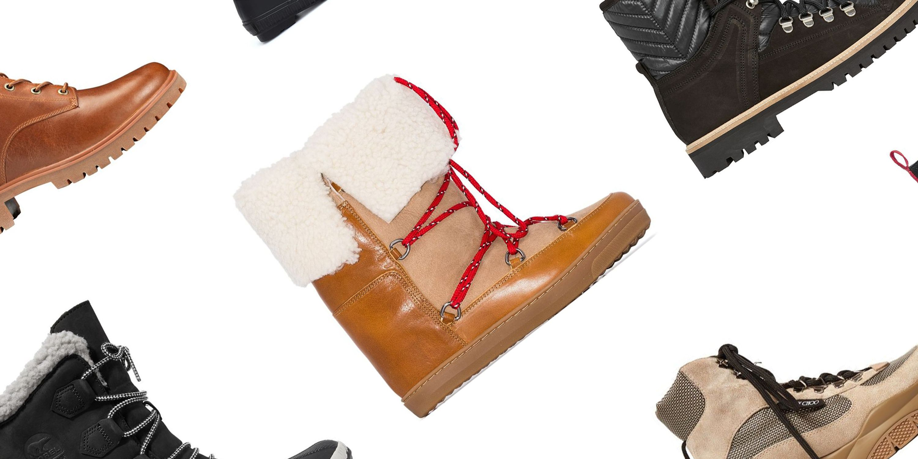 Women/'s Suede Leather Ankle Snow Boots 4 Colors
