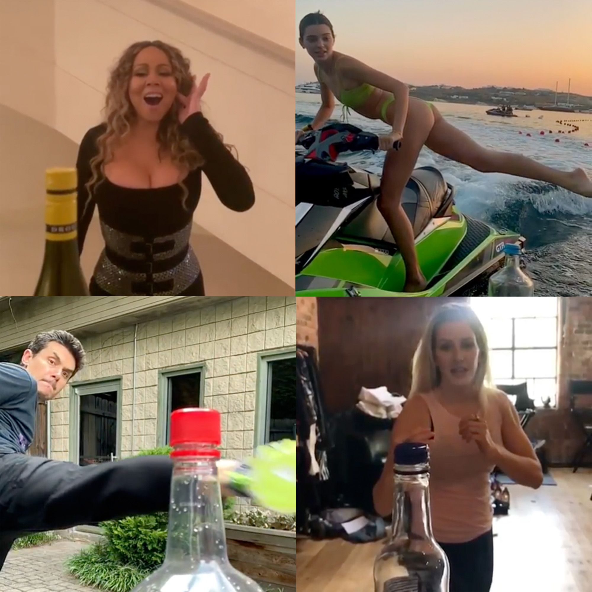 15 Celebrities Who Nailed and Failed the Bottle Cap Challenge