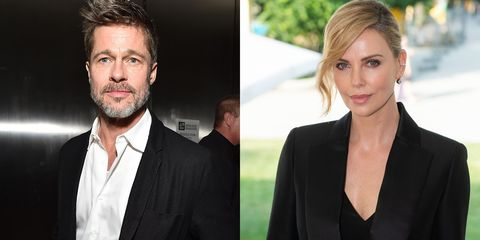 No, Brad Pitt and Charlize Theron Aren't Really Dating