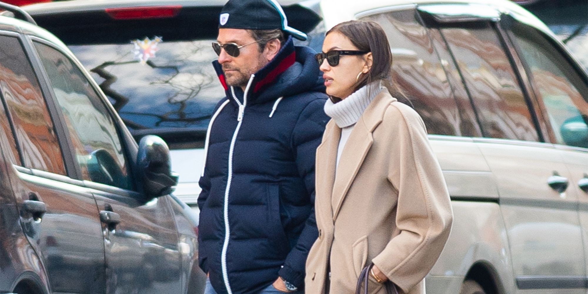 EXCLUSIVE: Bradley Cooper and Irina Shayk are Spotted Having Lunch Together in New York City.