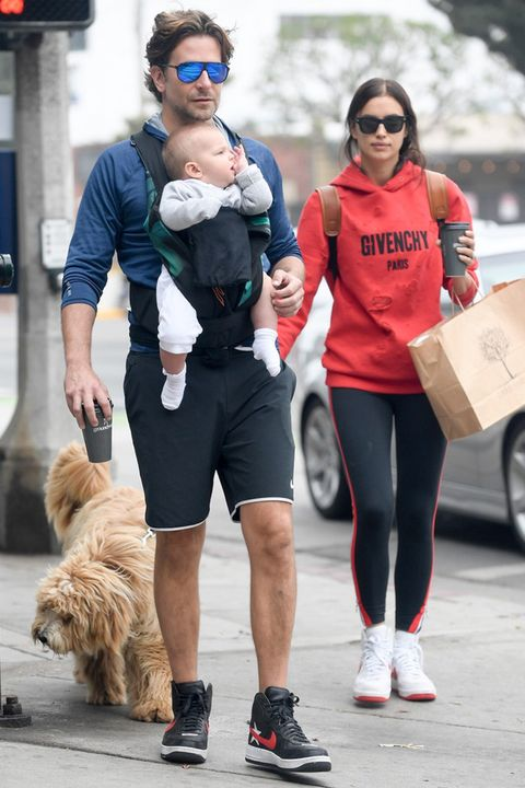 Bradley Cooper Irina Shayk And Baby Step Out In La