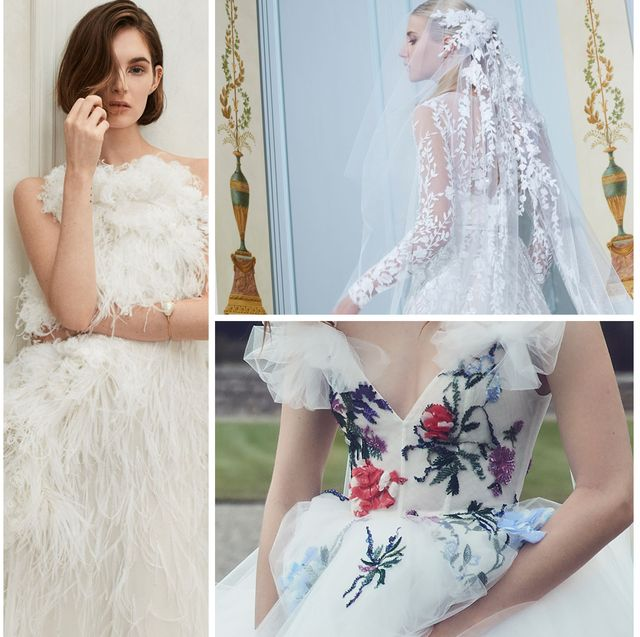 "58ad9e7cc099 Wedding Dress Trends 2019 - The ""It"" Bridal Trends of 2019"