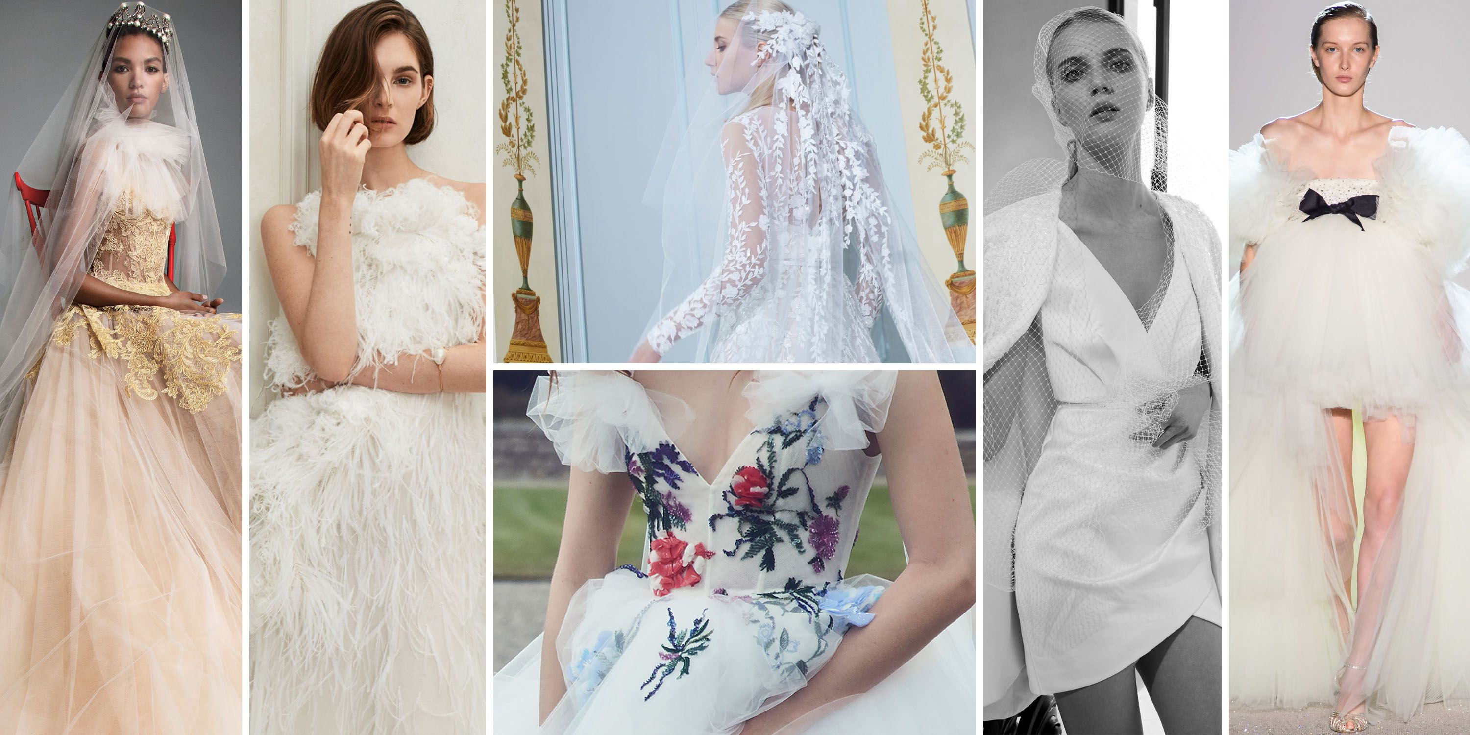 These Are the It Bridal Trends of 2019