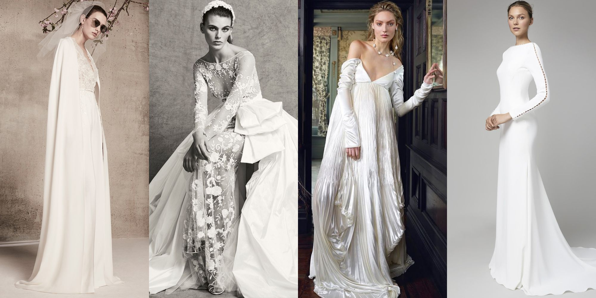 11 Top Wedding Dress Trends Of 2018 Best Bridal Gowns Of The Year