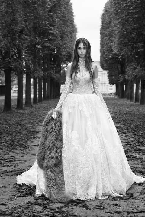 Gown, Wedding dress, Dress, Photograph, White, Bride, Clothing, Bridal clothing, Bridal accessory, Beauty,