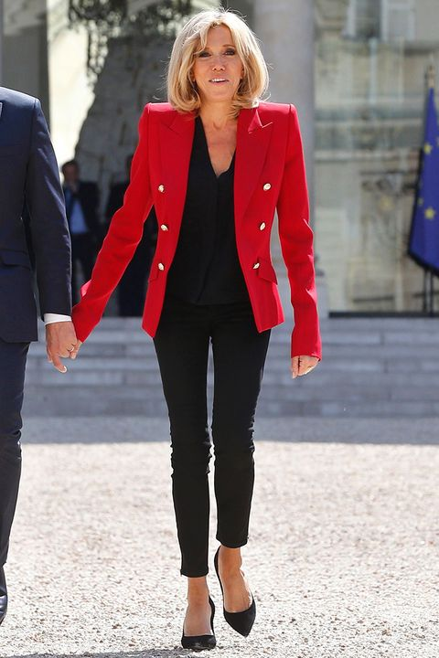Brigitte Trogneux S Best Looks The French First Lady S