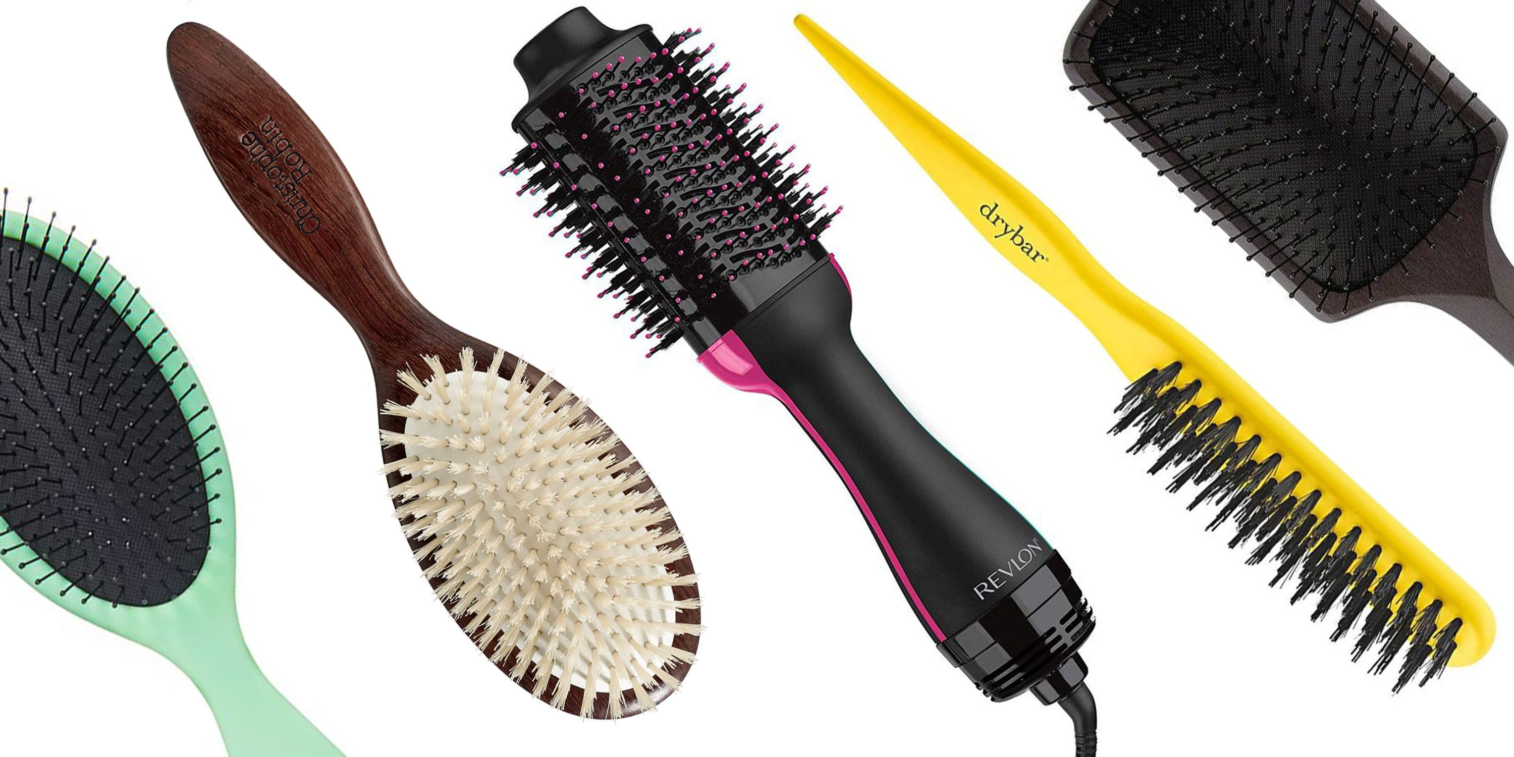 Conair Vent Brush Snag Free Ball Tipped Bristles Add Volume For all Hair Lengths