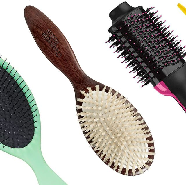 Best Hair Brushes 2020 - Best Round, Paddle, and Detangling Hair ...