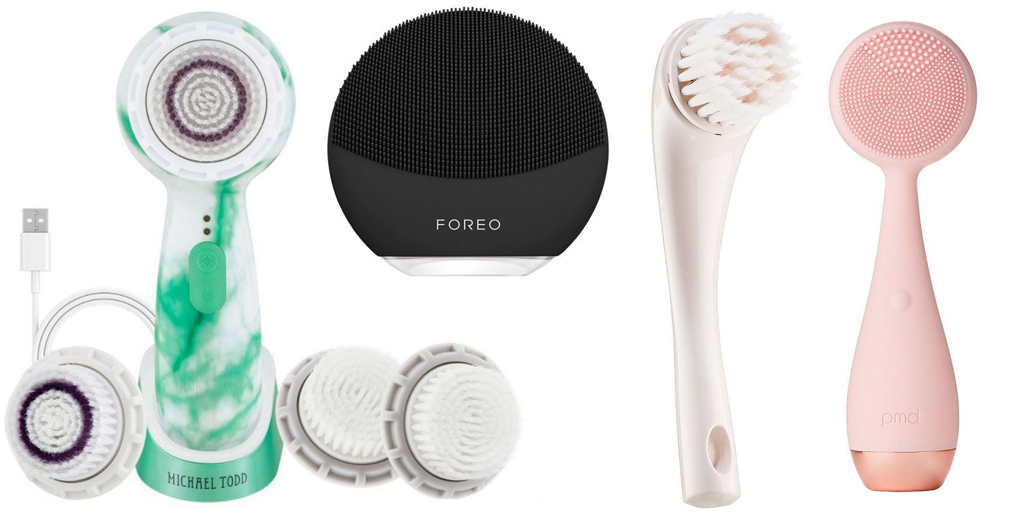 Best Facial Cleansing Brush 2021 The 7 Best Facial Cleansing Brushes for Every Skin Type   New
